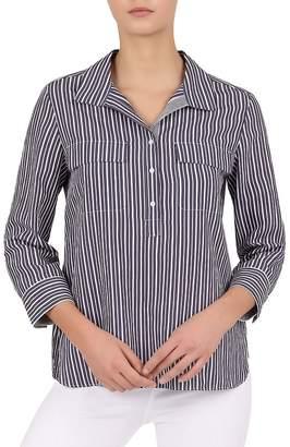 Gerard Darel Elem Striped Popover Shirt