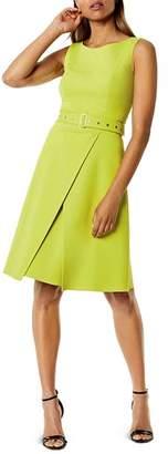 Karen Millen Belted A-Line Dress
