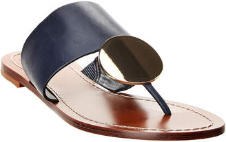 Tory Burch Patos Disk Leather Sandal