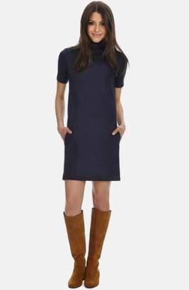 Donna Morgan Mock Neck Knit Shift Dress