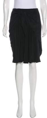3.1 Phillip Lim Silk Sash Tie Skirt