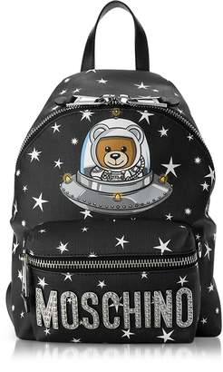 Moschino Space Teddy Bear Black Backpack