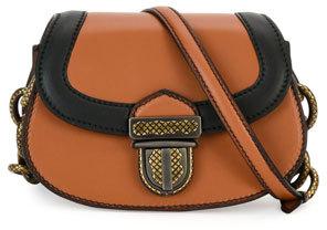 Bottega VenetaBottega Veneta Umbria Mini French Calf Shoulder Bag, Tan