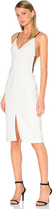 Alice + Olivia Sofie Lace Up Side Dress $347 thestylecure.com