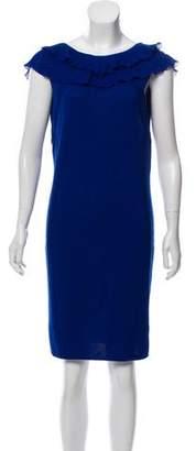 Versace Wool Knee-Length Dress