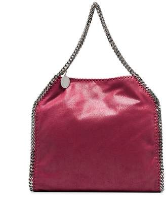 Stella McCartney red falabella small shaggy deer tote