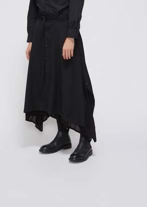 Yohji Yamamoto Button Front Skirt