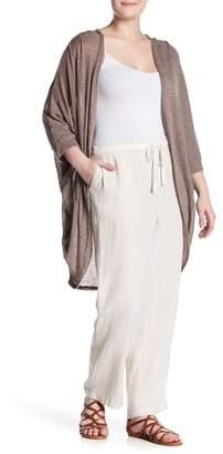 Susina Yarn Dye Linen Blend Pants (Plus Size)