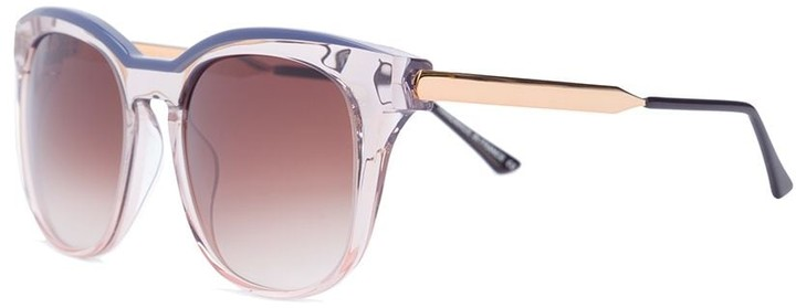 Thierry Lasry clear effect square sunglasses