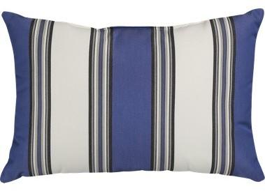 Aegean Riviera Stripe Pillow