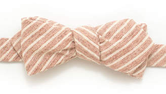 "General Knot & Co Rope Stripe Diamond Point Bow ""Heather"""