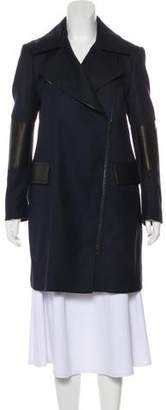 Belstaff Virgin Wool Zip-Up Coat