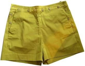 Loro Piana Green Cotton Shorts for Women
