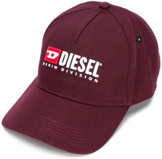 Diesel front logo cap