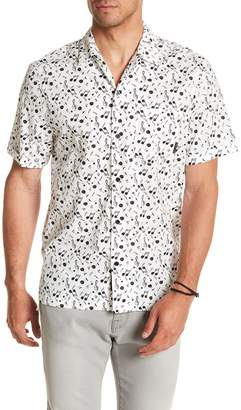 Religion Regular Fit Note Printed Shirt