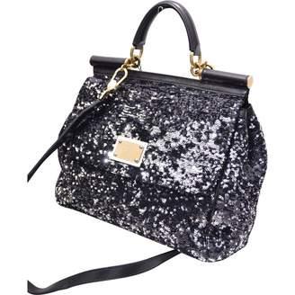 Dolce & Gabbana Sicily glitter handbag