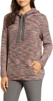 Nic+Zoe Breath Easy Sweater Knit Hoodie
