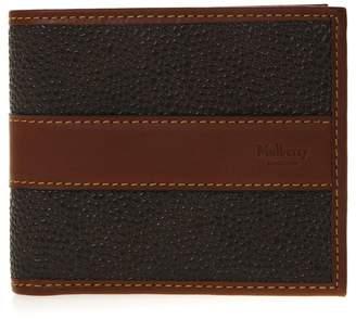 Mulberry Mole & Cognac Leather Card Wallet