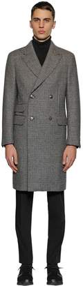 Ermenegildo Zegna Wool Prince Of Wales Coat