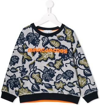 Little Marc Jacobs printed logo sweatshirt