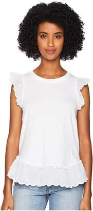 Kate Spade Pom Pom Trim Tee Women's T Shirt
