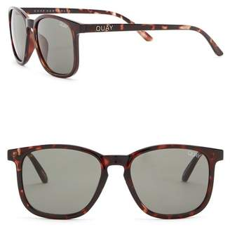 6c1f1b8304592 Quay The Oxford 44mm Square Sunglasses