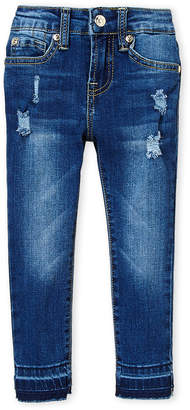 Seven7 Girls 4-6x) High-Waisted Ankle Skinny Jeans