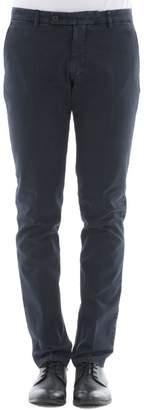 Berwich Blue Cotton Pants