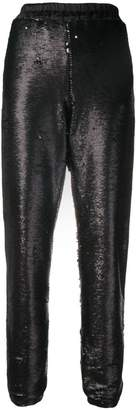 Styland sequin track trousers