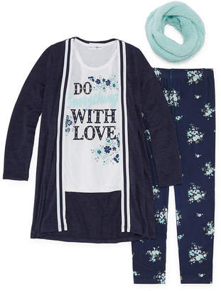 Knitworks Knit Works 3 Piece. Legging Set-Big Kid Girls