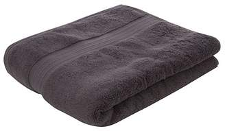 George Luxury by Home Luxury 100% Pima Cotton Bath Towel - Charcoal