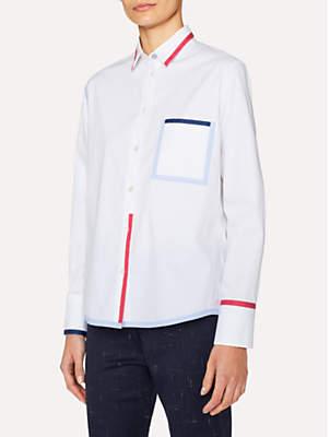Paul Smith Trim Detail Shirt, White