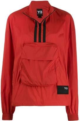 Y-3 half-zip shell track jacket