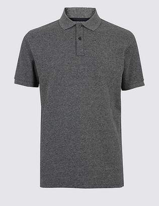 Marks and Spencer Pure Cotton Polo Shirt