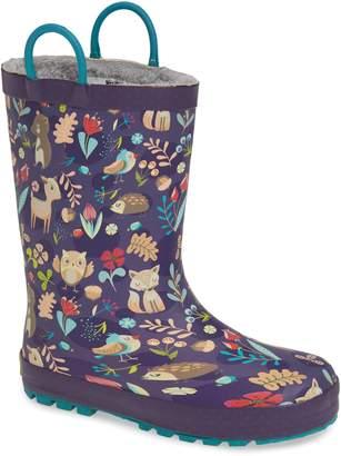 Western Chief Fairytale Faux Fur Lined Rain Boot
