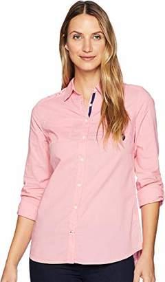 U.S. Polo Assn. Junior's Cotton Voile Woven Shirt