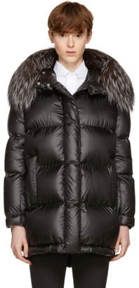 Prada Black Down Ripstop Puffer Coat