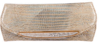 Judith Leiber Embellished Lizard Clutch $200 thestylecure.com