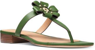 MICHAEL Michael Kors Women's Tara Flat Thong Sandals