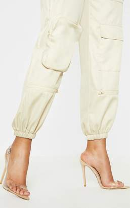PrettyLittleThing Neon Yellow Slingback Point Toe Heeled Sandal
