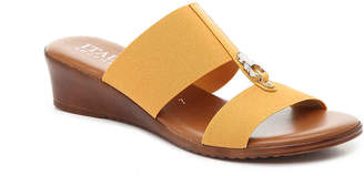 Italian Shoemakers Stretch Wedge Sandal - Women's