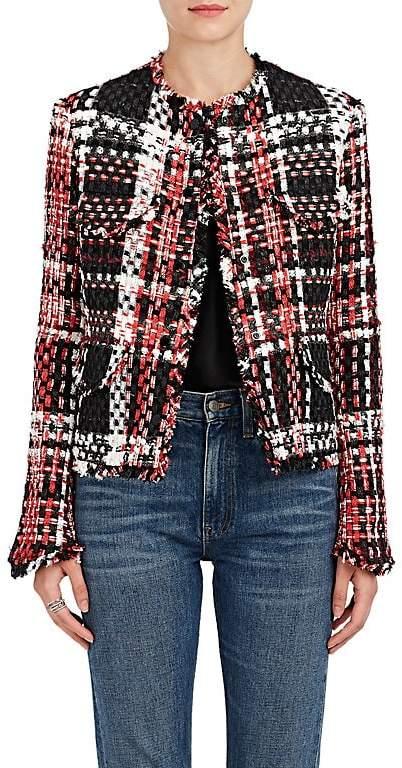Rag & Bone Women's Indie Plaid Wool-Blend Jacket