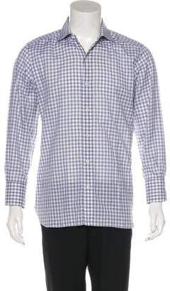 Tom Ford Flannel Button-Up Shirt