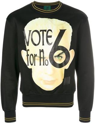 Jean Paul Gaultier Pre-Owned Vote print sweatshirt