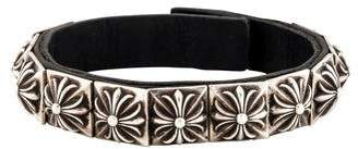 Chrome Hearts Zero Leather Bracelet