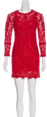 Isabel Marant Lace Mini Dress
