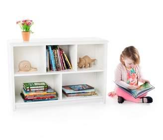 Guidecraft Kids Bookshelf - White