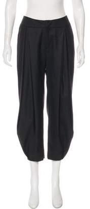 Maiyet Silk High-Rise Pants