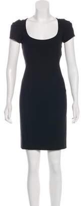 Zac Posen Virgin Wool Mini Dress