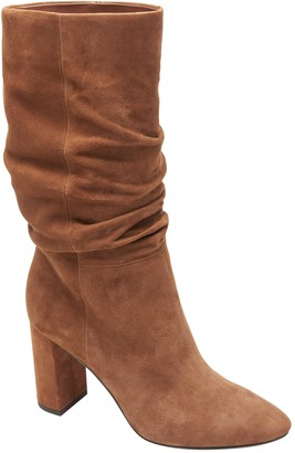 Banana Republic High-Heel Slouchy Boot